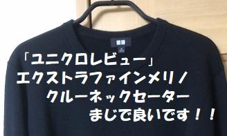 洗濯できるニット「エクストラファインメリノセーター」安すぎる!
